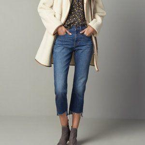 Madewell - Perfect Vintage Step Hem Jeans